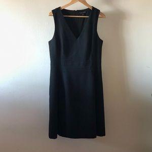 Banana Republic Black V Neck Dress